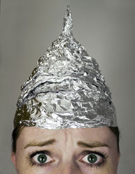 picture of tin foil hat