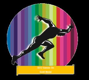 GCU Games On Gold Medal