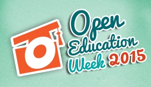 open education week 15 logo